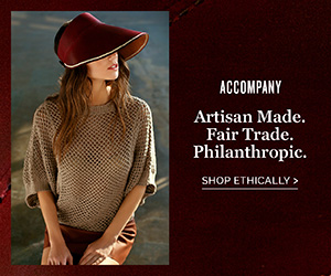 Accompany - Artisan Made, Fair Trade, Philanthropic
