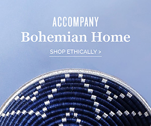 Accompany - Modern Bohemian Home, ethically made
