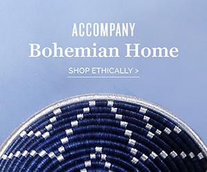 Accompany - Modern Bohemian Home, ethically made