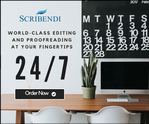 Scribendi: World-Class Editing and Proofreading