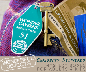 Wonderful Objects Mystery Boxes: Curiosity Delivered