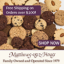 Matthews 1812 House Cookies