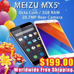 Buy Meizu mx5 with the cheapest price