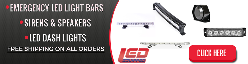 emergency led light bars