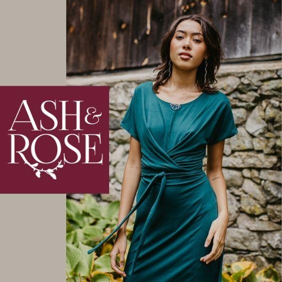 Ash & Rose, banner