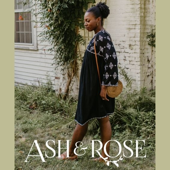 Sustainable Clothing Stores - Ash & Rose