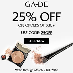 GA-DE Cosmetics Coupon