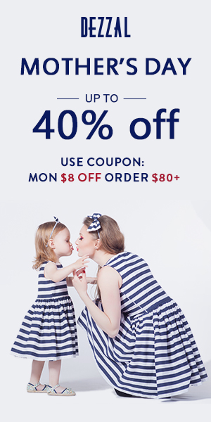 Mother's Day Sale: Up to 40% OFF!
