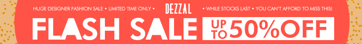 Hurry & find some of your favorite styles at a discounted price during dezzals' flash sale! Time is limited, so catch up with the top fashion now!