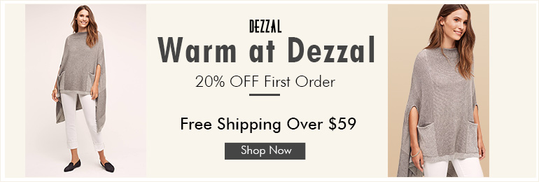 Free shipping over $59 at dezzal.com for buying sweaters ! Shop now!