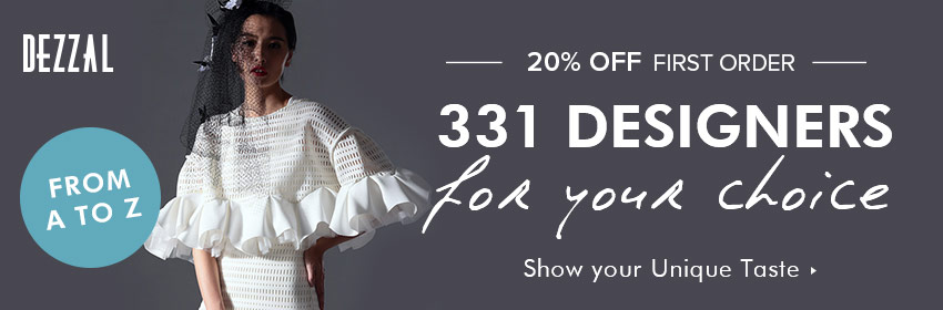 "No more clothing clash from Dezzal! We provides fashion design collection of 331 designers here and you can enjoy 20% off for your first order with coupon ""DZFIRST"" and free shipping on orders $59+. Just poking us!"