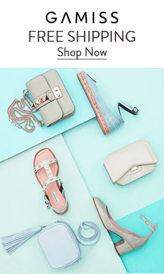 Look at homepage at gamiss ! Up to 50% OFF for your option for free shipping! Shop now!