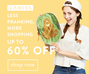 Gamiss April Fool's Day Sale: Up to 60% OFF, Don't Miss it and Take it Home!