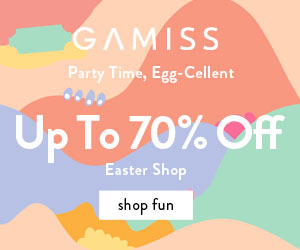 Gamiss Easter Sale: Up to 70% OFF, Don't Miss It!