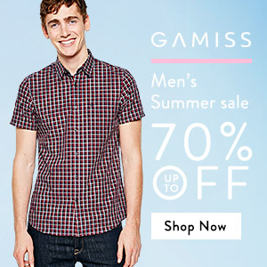 Enjoy Shopping at Gamiss! Up to 70% OFF for your Option! Shop now!