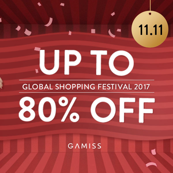 2017 Global Shopping Festival Up To 80%, Shop Now