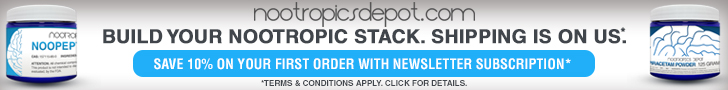 Build Your Nootropic Stack. Shipping Is On Us.