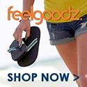 Feelgoodz natural flip flops