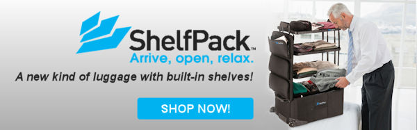 ShelfPack - revolutionary luggage with shelves!