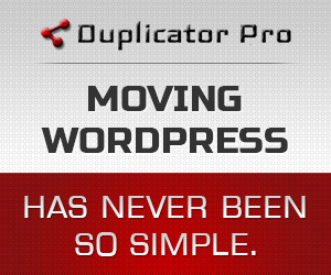 Duplicator Pro: Moving WordPress Has Never Been So Simple.
