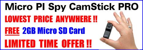 Micro PI Spy CamStick PRO