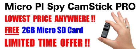 Spy Cameras and Covert DVRs at DynaSpy.com