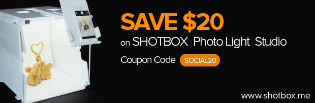 SHOTBOX Photography Light Studio Banner