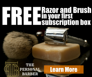 free safety razor and shaving brush