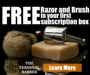 free safety razor and shaving brush