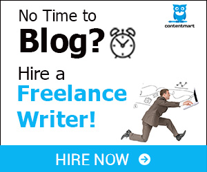 No time to Blog? Hire a Freelance Writer!