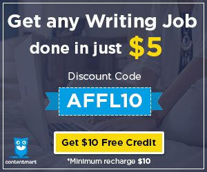 Discount Code at Contentmart- AFFL10