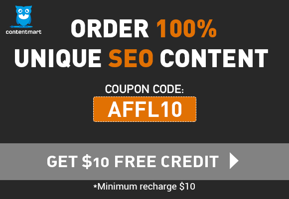 Discount Code at Contentmart- AFFL10