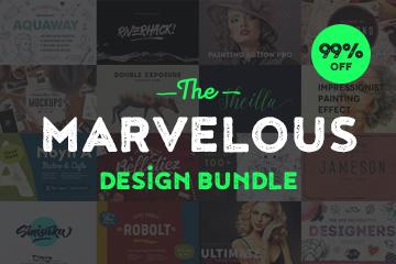 Pixelo promo codes - The Marvelous Design Bundle