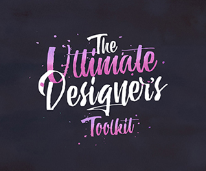 The Ultimate Designer's Toolkit: 29 Fonts and 1132 Graphics