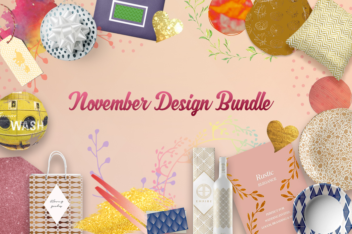 November Design Bundle