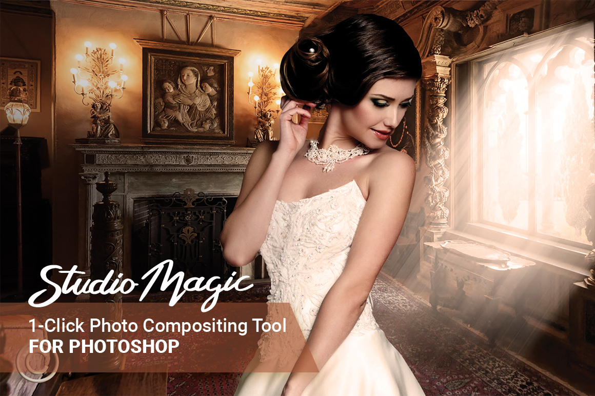 StudioMagic: The 1-click Photo Compositing Tool for Photoshop