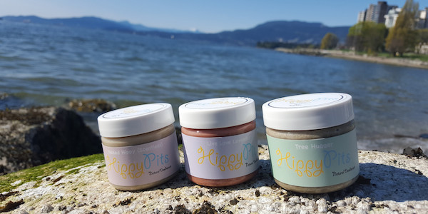 Natural Deodorant by Hippy Pits