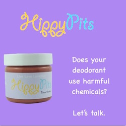 Hippy Pits Natural Deodorant