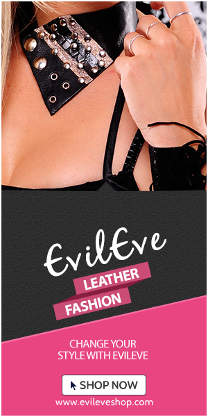 EvilEve handmade leather accessories