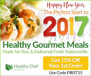 15% OFF Your First Order! Start your new year healthy!