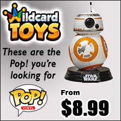 Wildcard Toys Pop! Vinyl Figures