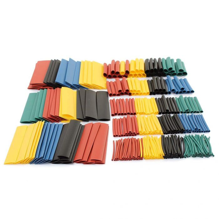 328pcs Assorted Halogen-Free Heat Shrink Tubing - 8 Sizes/Set Was: $6.99 Now: $5.99.