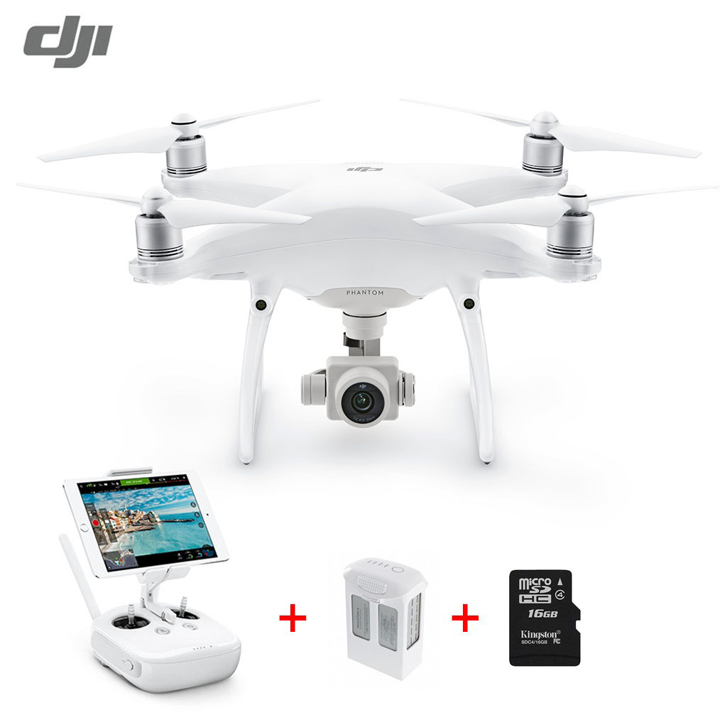 Extra 6% OFF $1535.96 Coupon Code  for DJI Phantom 4 Pro 20MP 4K Drone Dual Battery Pack
