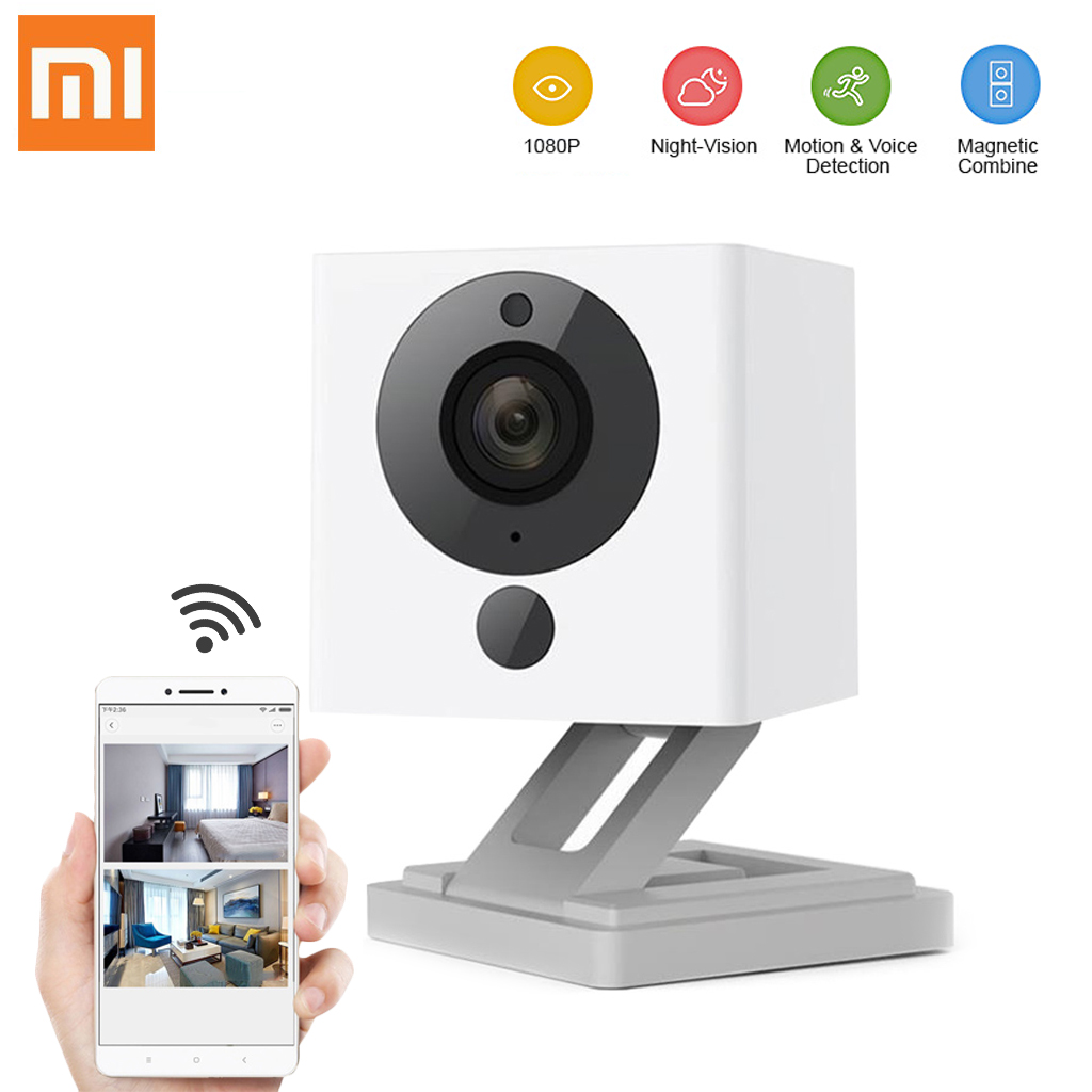 Enjoy Coupon Code  Only $19.99 Xiaomi XiaoFang 1080P Wi-Fi IP Camera with