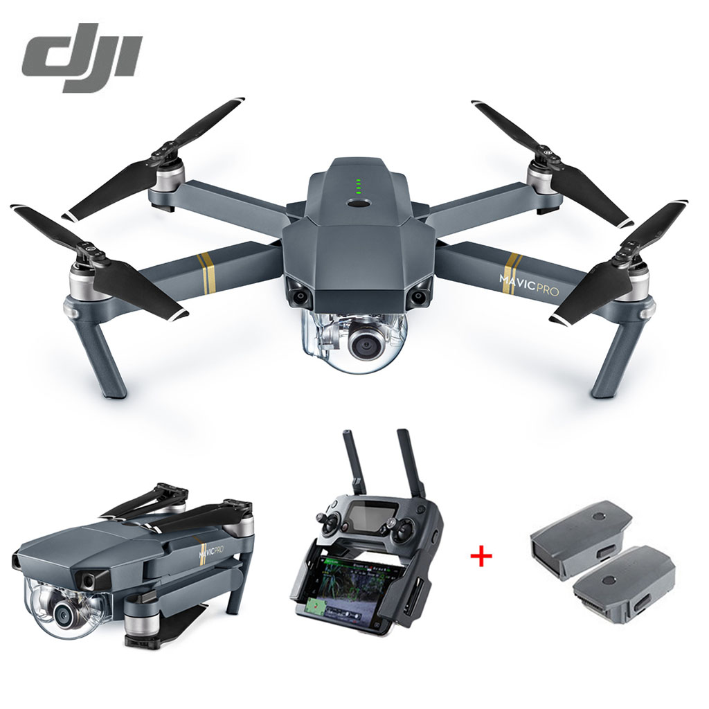 Extra 23% OFF $1,255.87 Coupon Code  for DJI Mavic Pro Fly More Combo Mini Foldable RC Drone