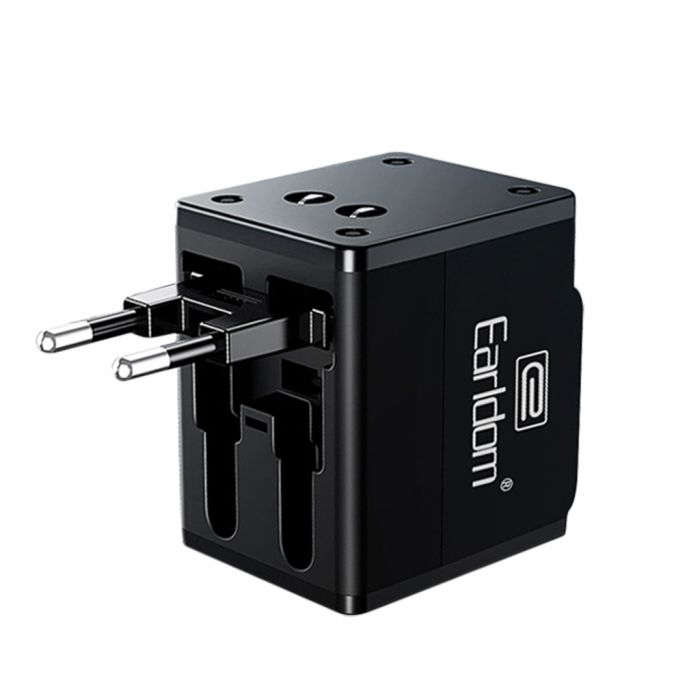 Earldom ES-LC10 Universal Travel Adapter with Dual USB Charging Ports Was: $15.99 Now: $7.99 and Free Shipping.