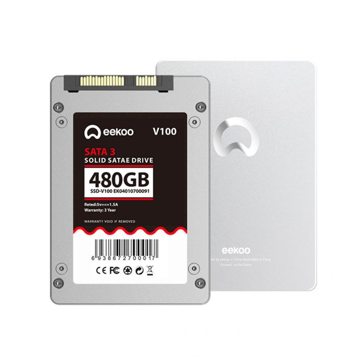 eekoo V100 2.5-inch SATA 3 Solid State Drive 480GB Built-in High-performance TLC Chip Was: $119.99 Now: $66.99.