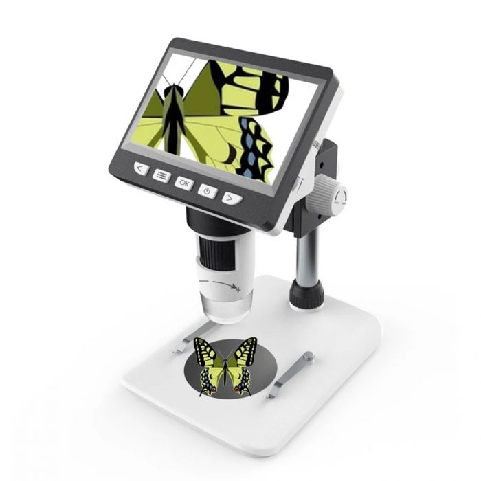 Inskam307 Portable Desktop LCD Digital Microscope with High Brightness 8 LEDs Was: $79.99 Now: $35.99.