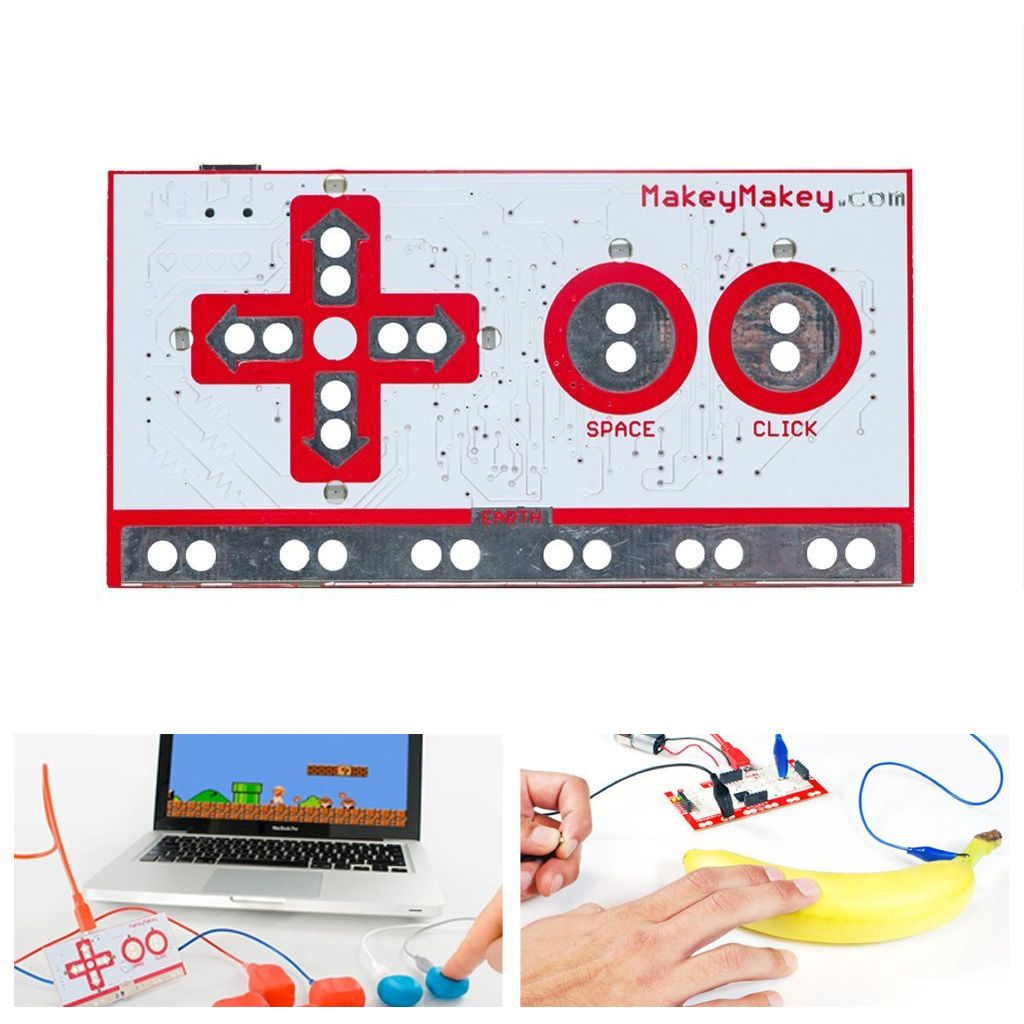 Makey Makey MK Set Deluxe Kit with USB Cable Electronic Invention Tool Was: $29.99 Now: $12.99 and Free Shipping.