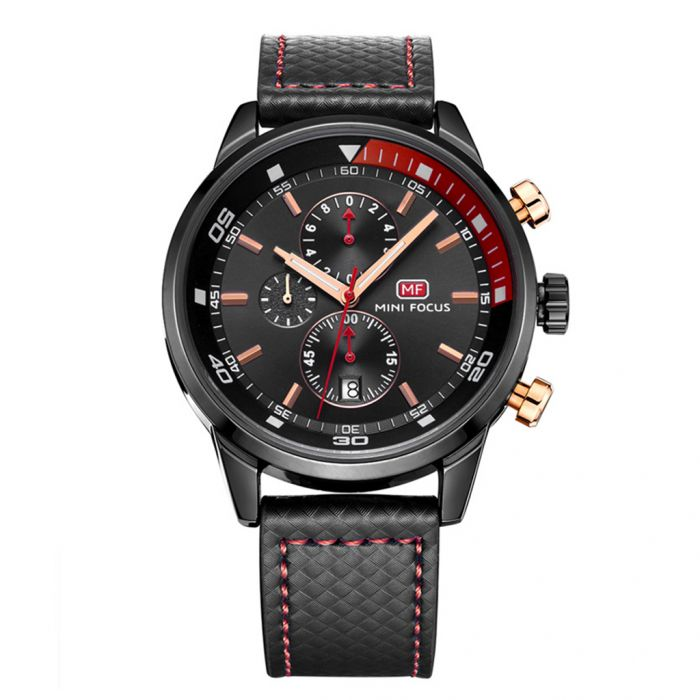 Mini Focus MF0017G Men's 3 Sub-Dials Quartz Watch with Calendar Was: $26.99 Now: $12.99.
